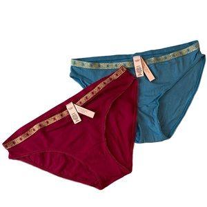 💚💚3/$30 VICTORIAS SECRET bikini panties